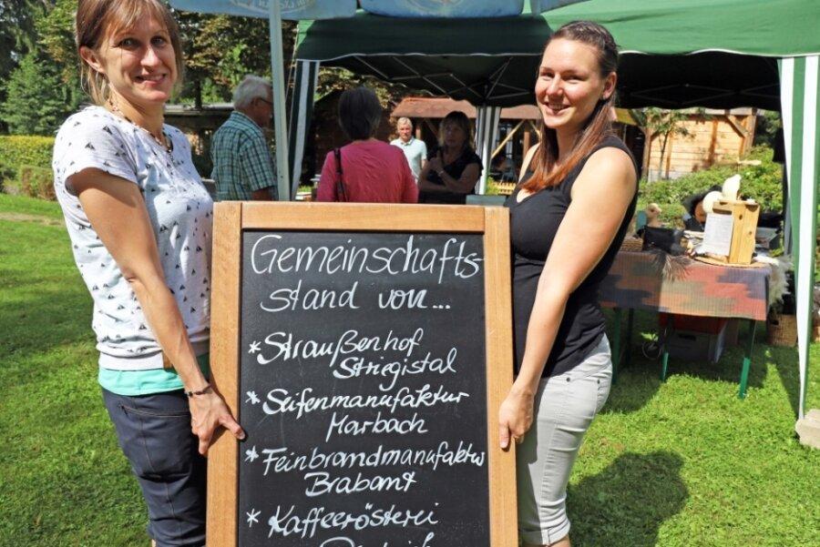 """""""Made in Mittelsachsen"""": Markt bietet Produkte aus der Region"""