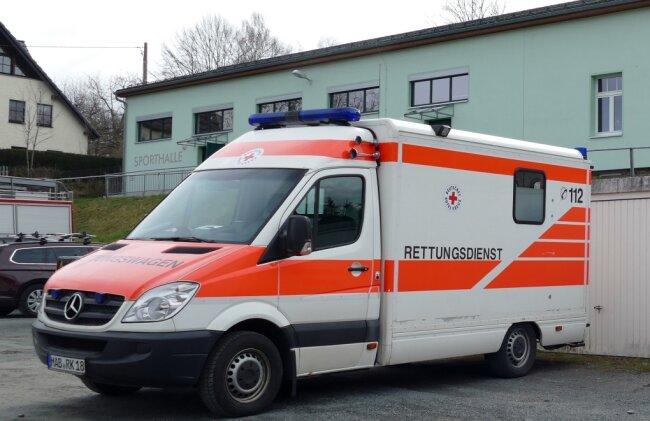 Als Notunterkunft dient in Dittersdorf die Turnhalle.
