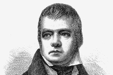 Ein körperliches Leiden brachte Walter Scott zum Schreiben.