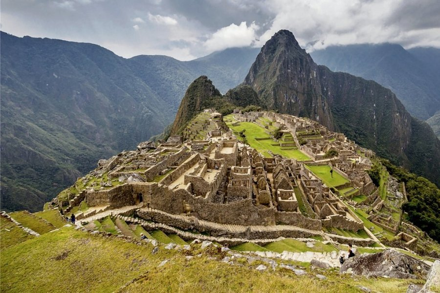 Machu Picchu ist Perus bedeutendste Attraktion. Und einmalig in der Symbiose aus fantastischer Bergwelt und Menschenwerk.
