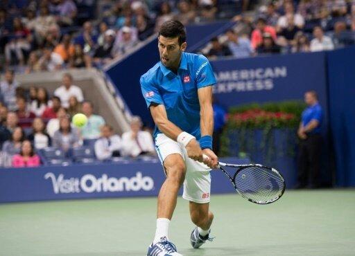 Im Viertelfinale der US Open: Novak Djokovic