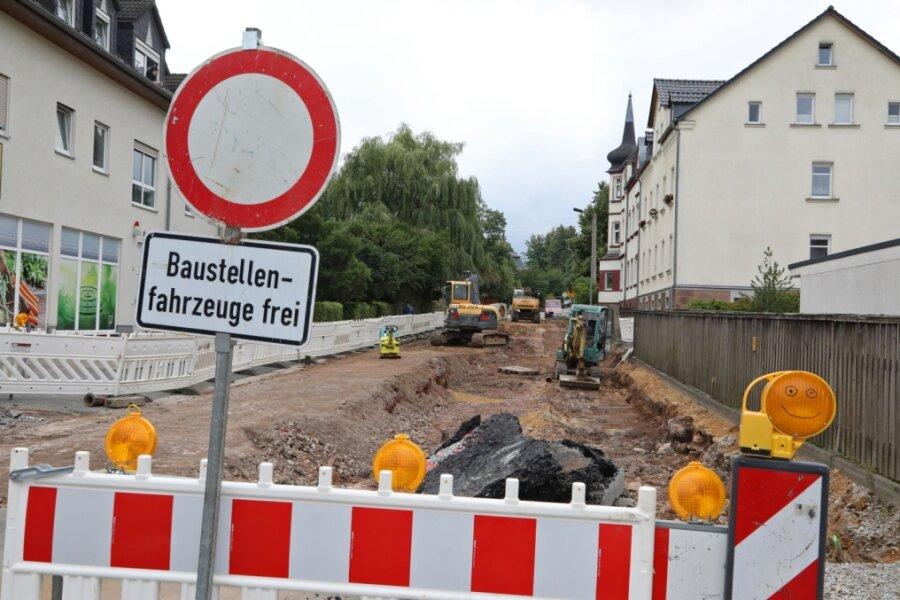 Baustelle in Lichtenstein ist weiter gerückt
