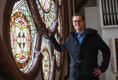 Mit Benjamin Philipp hat die St.-Nikolai-Thomas-Kirchgemeinde seit Anfang Februar einen neuen Pfarrer.