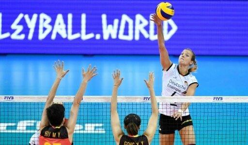Die deutschen Volleyballerinnen unterlagen China mit 2:3
