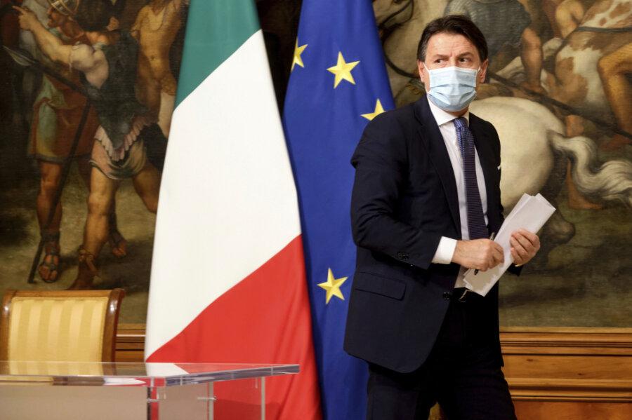 EU-Gelder als letzte Chance für Italien