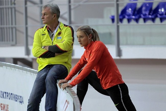 Kristin Gierisch und ihr langjähriger Trainer Harry Marusch beenden ihre Zusammenarbeit.