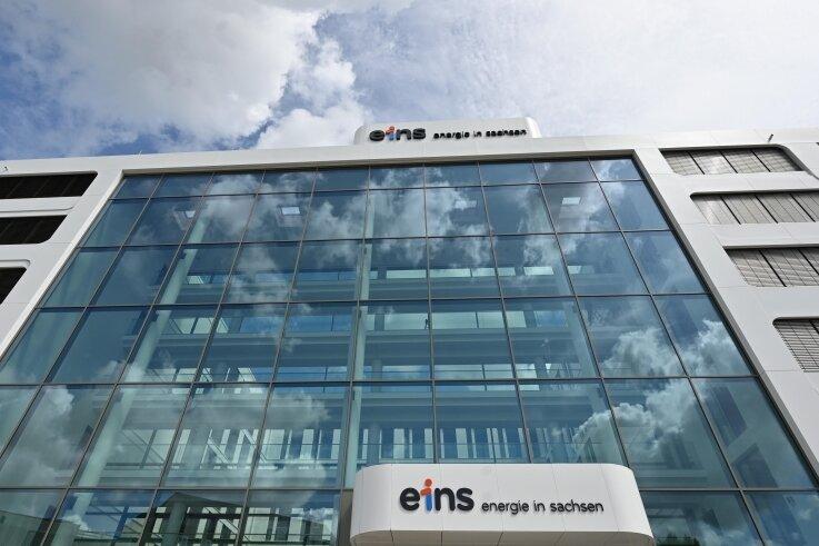 Die neue Firmenzentrale von Eins. Der Versorger gab nun bekannt, dass er in Siegmar kein Müllkraftwerk errichten will.