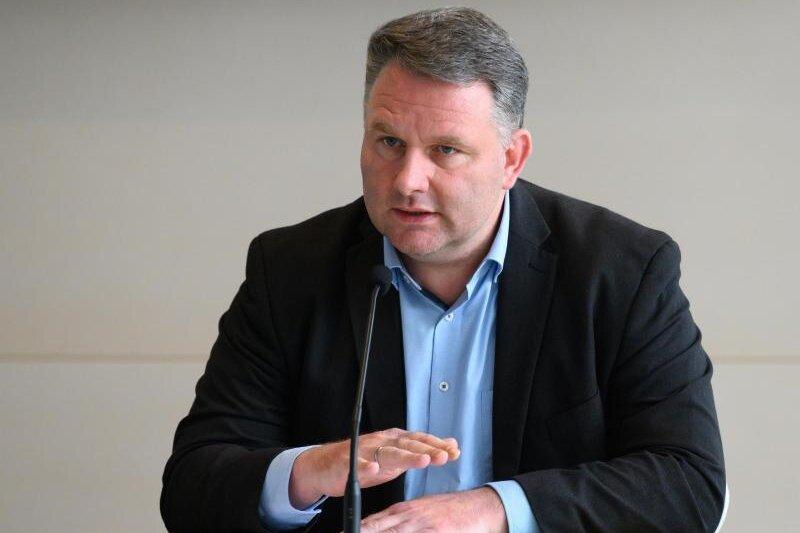 Christian Hartmann (CDU), Fraktionsvorsitzender im Sächsischen Landtag.