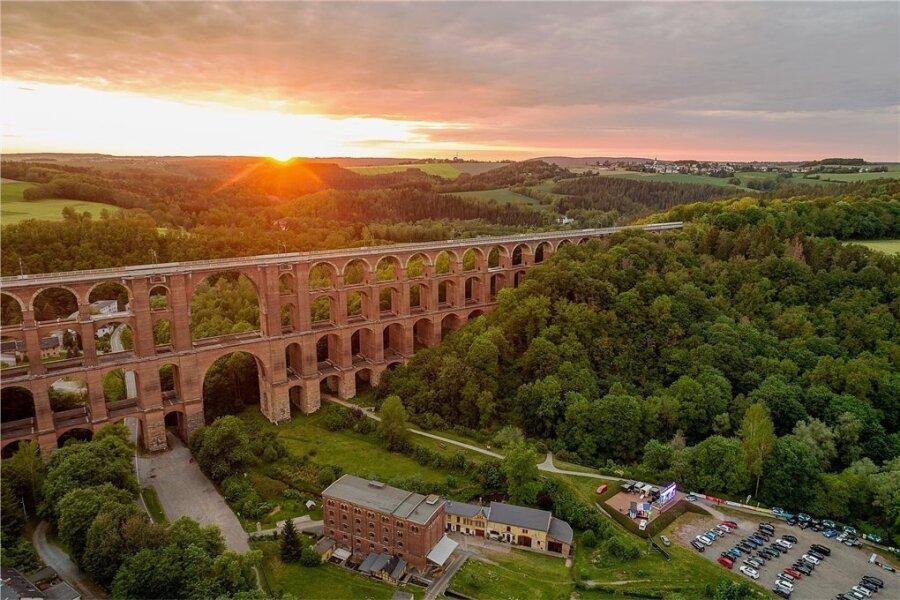 Die 1846 bis 1851 erbaute Göltzschtalbrücke gilt als Wahrzeichen des Vogtlandes. Sie soll nun Weltkulturerbe werden.