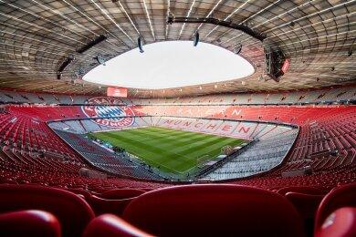 Die Allianz Arena in München ist ein Austragungsort der EM 2021.