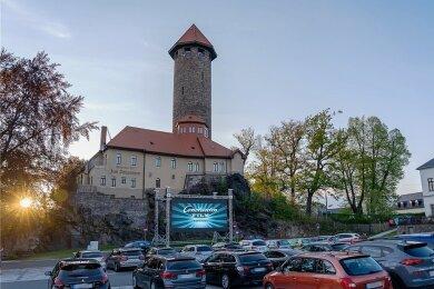 Das erste Auerbacher Autokino war am 12. Mai 2020 zu erleben. Damals waren etwa 80 Gäste in 40 Autos in der Arena.