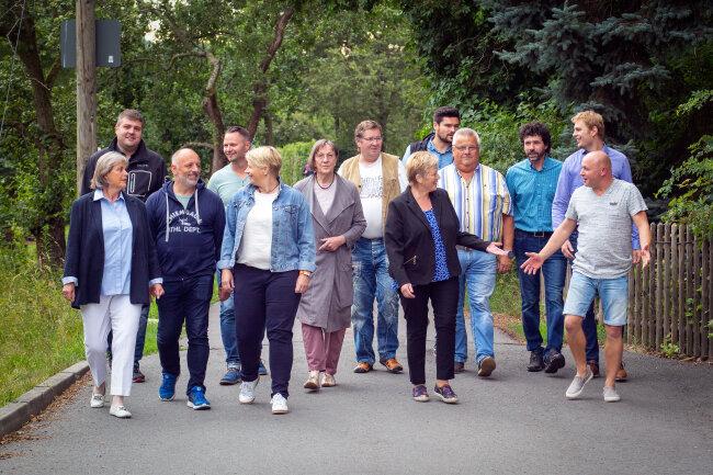 Acht Neue wurden im Mai in den Niederwiesaer Gemeinderat gewählt, dem Bürgermeisterin Ilona Meier (parteilos) vorsitzt.