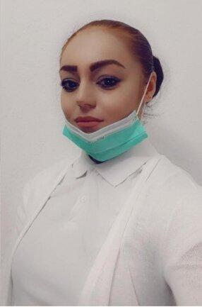 Als Laborantin weiß Hevi Salah Hama, wie gefährlich der Coronavirus ist.