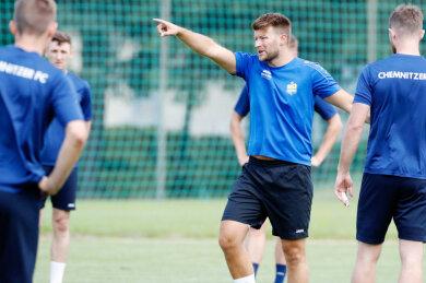 Trainingsauftakt mit neuem Cheftrainer Daniel Berlinski.