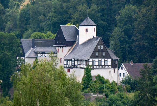 Das Schloss Rauenstein