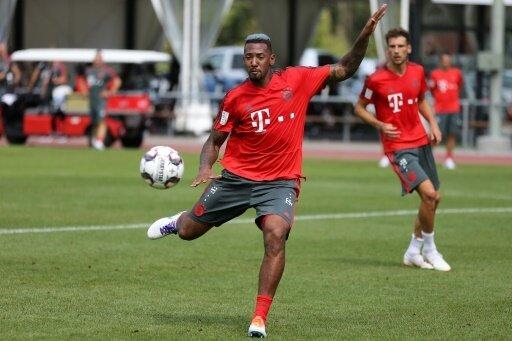 Jerome Boateng ist zurück im Mannschaftstraining
