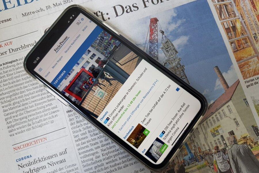 Die Zeitung wird digital: Neu gedacht, smart gemacht