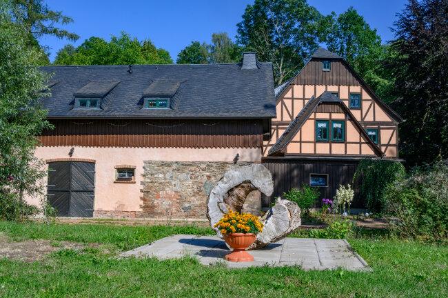 Die Kunze-Mühle in Kuhschnappel