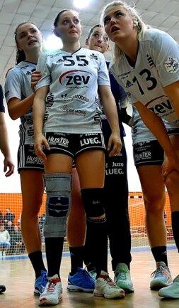 Mit 1,66 Meter ist Rebeka Ertl (Nr. 55) aktuell die kleinste Spielerin im BSV-Kader.