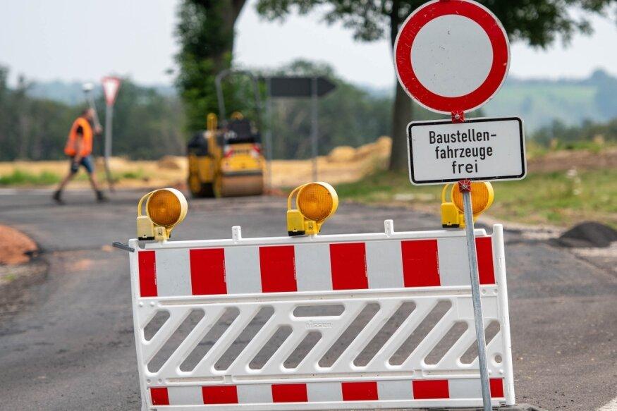 B 173 in Freiberg wegen Brückenabriss dicht