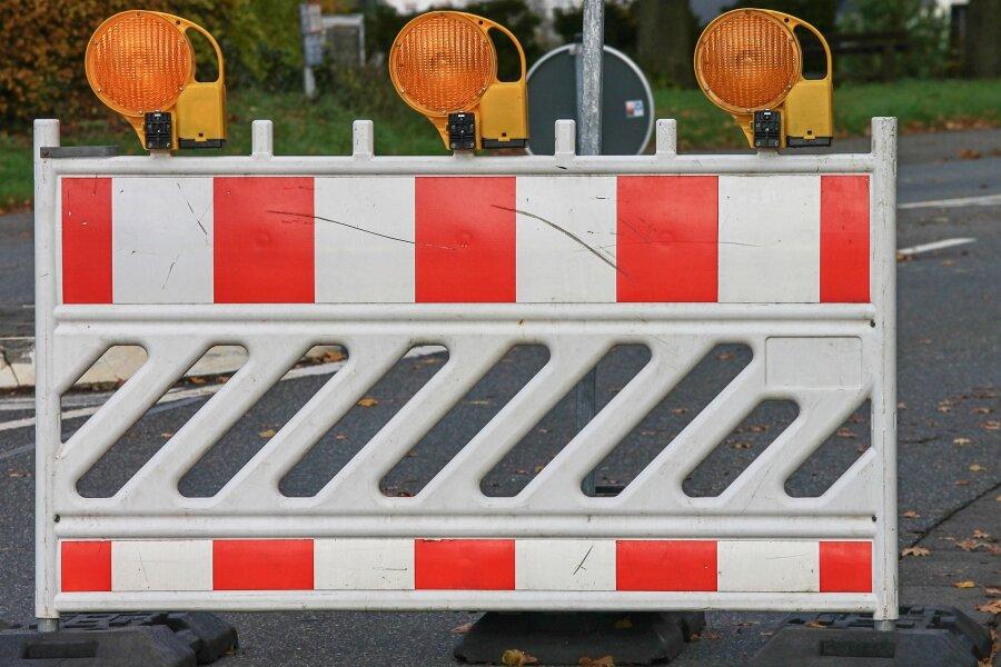 Frauensteiner Straße in Freiberg ab Montag gesperrt