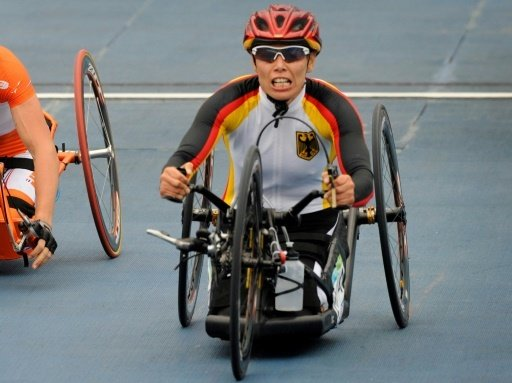 Eskau gewann mit dem Handbike Gold im Straßenrennen