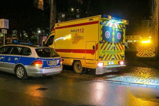 Drei Kinder bei Unfall in Aue verletzt