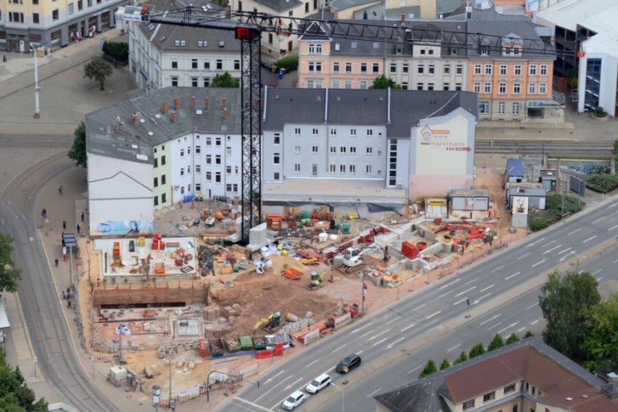 Der Neubau des Korian-Pflegeheimes an der Sparkassenkreuzung kann nur erfolgen, weil das Baurecht bereits vor Jahren gewährt wurde. Weiteren Projekten steht die Stadt kritisch gegenüber.