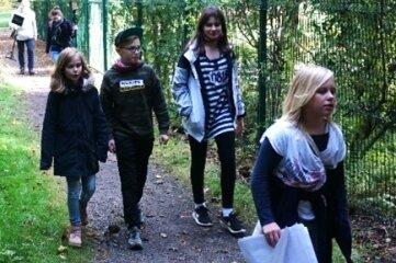 Ferienkinder haben kürzlich an verschiedenen Orten in Oederan einen Film gedreht.
