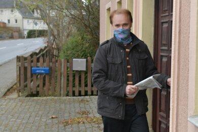 Jens Härtig aus Großhartmannsdorf hat sich nach einem positiven Coronatest in häusliche Quarantäne begeben und Kontaktpersonen informiert. Vom Gesundheitsamt hat er bis heute nichts gehört.