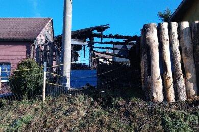 In Oberzwota brannte ein Schuppen nieder.