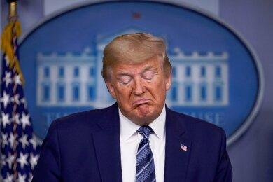 US-Präsident Donald Trump scheidet am 20. Januar aus dem Amt.