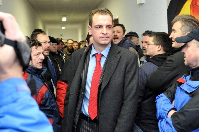 Der ehemalige PSW-Geschäftsführer Matthias Listner musste 2009 auf Druck der Belegschaft Insolvenz anmelden.