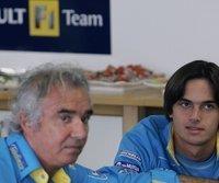 Flavio Briatore (l.) und Nelson Piquet