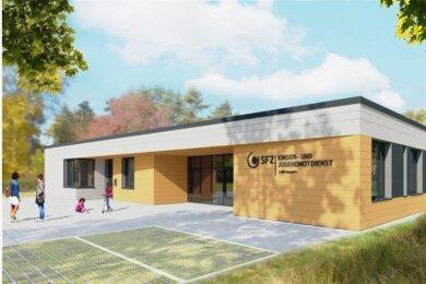 So soll der künftige Kinder- und Jugenddienst in Bernsdorf aussehen.