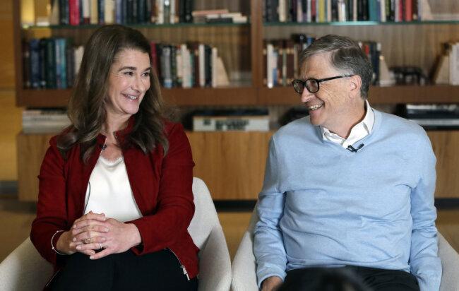 Der Microsoft-Gründer Bill Gates und seine Frau Melinda lassen sich nach 27 Ehejahren scheiden.