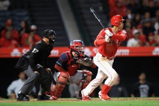 Ohtani ist in der MLB sein erster Homerun geglückt