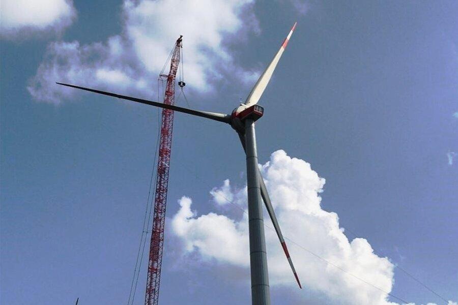 Wieder ein Thema: der Bau einer oder mehrerer Windkraftanlagen auf dem Gebiet von Niederalbertsdorf.