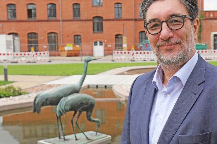 Stefan Hartmann, Bundestagskandidat der Partei Die Linke, hat in Mittelsachsen auch persönliche Bezüge zu Mittweida. Die Entwicklung des dortigen Bahnhofs verfolgt er zum Beispiel aufmerksam.
