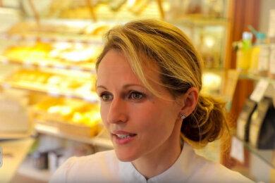 Sandy Fiedler führt in Einsiedel die Konditorei und Bäckerei ihrer Familie in fünfter Generation.