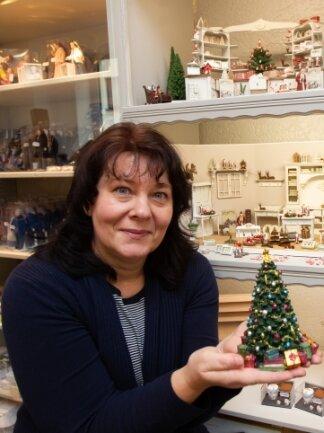 Silke Fichtner präsentiert ihre Miniaturwelten jetzt im neuen Geschäft an der Stresemannstraße 15.