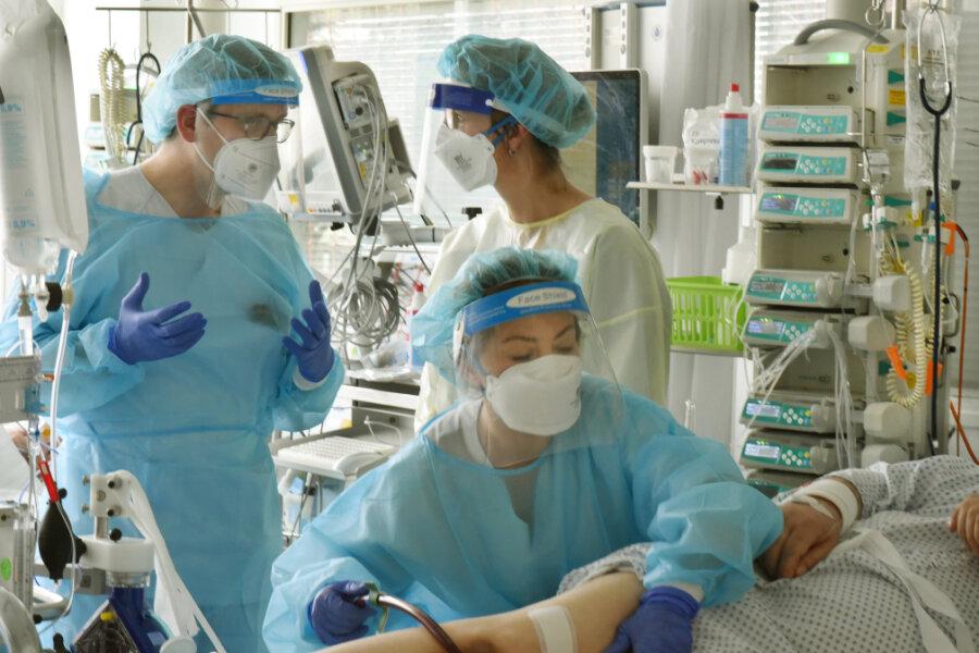 Mediziner: Klinikum Chemnitz bundesweit von Covid-19 am stärksten betroffen