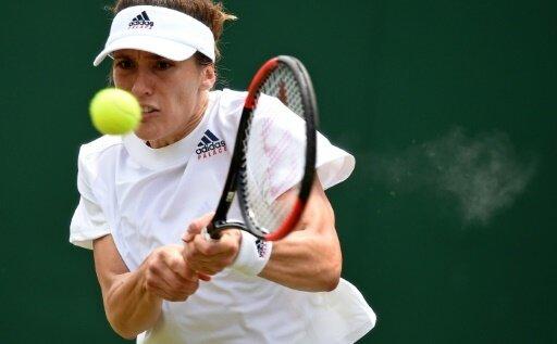 Andrea Petkovic unterlag Swetlana Kusnezowa mit 2:6, 2:6