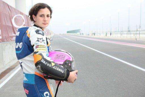 Rennfahrerin Ana Carrasco gewann die Gesamtwertung