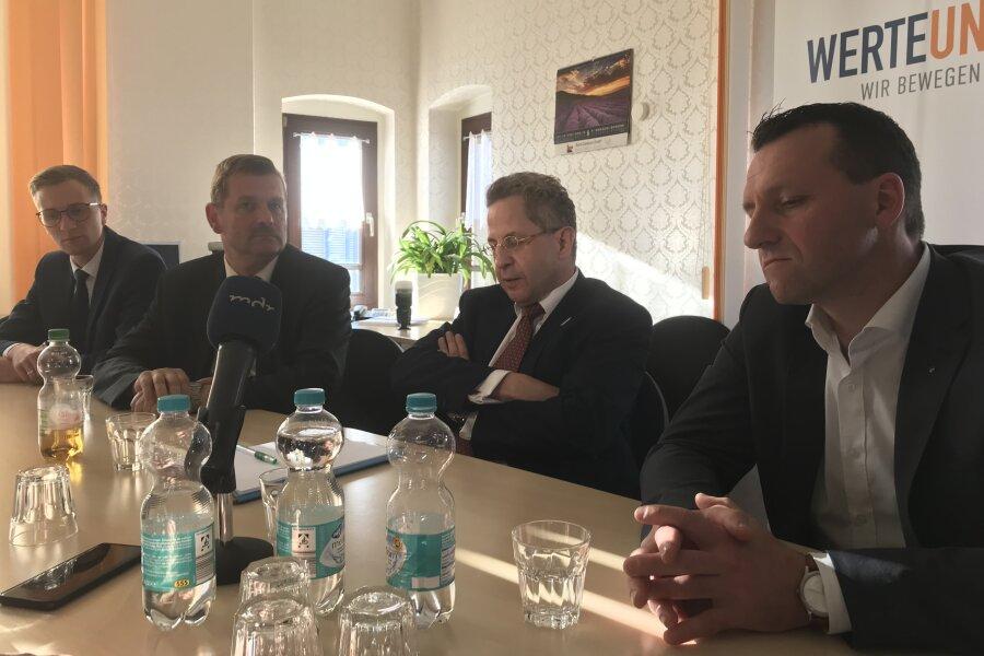 Ex-Verfassungsschutzpräsident Maaßen warnt Sachsen vor Koalition mit Grünen