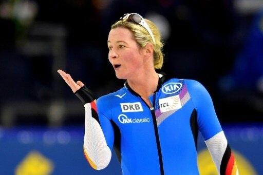 Claudia Pechstein ist mit 35 DM-Siegen Rekordmeisterin