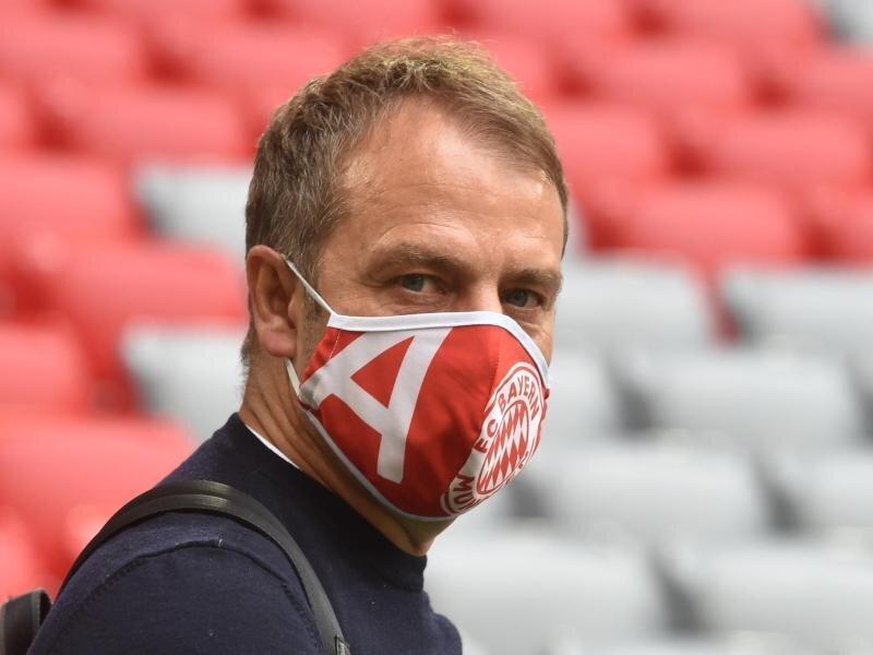 Hansi Flick zählt sich eher zu den ruhigeren Trainern.