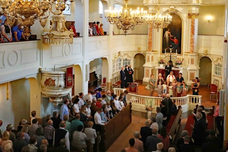Marienkirche öffnet nach zweijähriger Sanierung wieder für Besucher