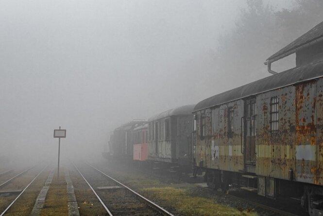 Endstation im Nebel