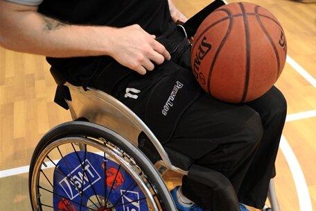 Überraschung im Rollstuhlbasketball